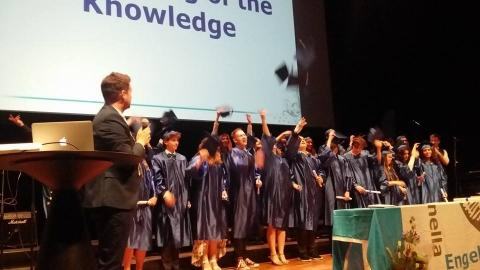 IES Umeå's First Graduation!